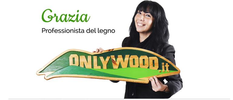 Grazia professionista del legno onlywood showroom Gavi(AL)